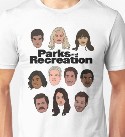 Parks & Recreation Crew Unisex T-Shirt