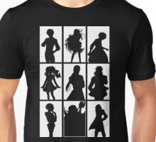 Tales of Xillia 2 - Character Roster (White) Unisex T-Shirt