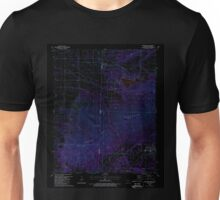 USGS TOPO Map Arkansas AR Hartford 258680 1987 24000 Inverted Unisex T-Shirt