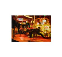 Midnight Carousel Ride Art Board