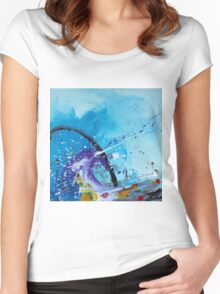 A Moment Of Summer Women's Fitted Scoop T-Shirt