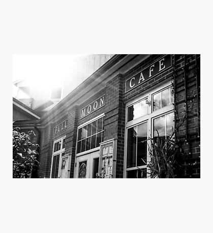 Full Moon Cafe Photographic Print