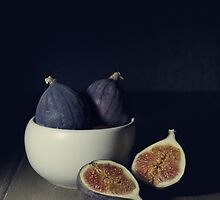 Still life with fresh figs by JBlaminsky