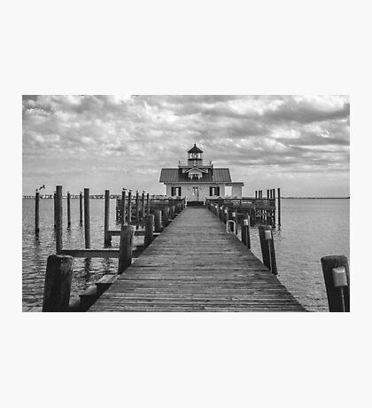 Roanoke Marshes Light Photographic Print