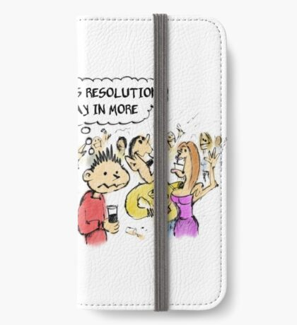 New Year's Resolution iPhone Wallet/Case/Skin