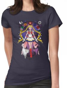 Princess of the Moon Womens Fitted T-Shirt