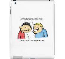 Love Life iPad Case/Skin
