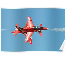 Red Arrows - Opposition Barrel Roll Poster