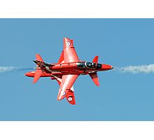 Red Arrows - Opposition Barrel Roll Photographic Print