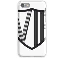 linien wappen emblem design symbol vip striche very important person cool  iPhone Case/Skin
