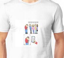 Pretend Texting Unisex T-Shirt