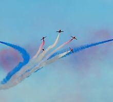 Red Arrows - Vixen Break by © Steve H Clark