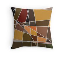 British Landscapes Throw Pillow