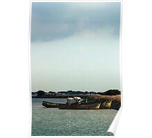 Boats and Wrecks (Île de Noirmoutiers - Vendée, France) Poster