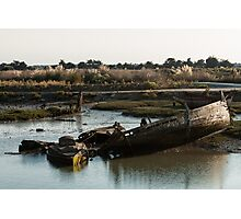 Wrecks (Île de Noirmoutiers - Vendée, France) Photographic Print