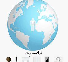 """""""MY WORLD""""  by arianaokay"""
