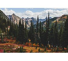 North Cascades National Park in Autumn Photographic Print