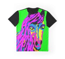 Colored horse Graphic T-Shirt