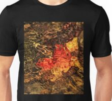 Colorful Leaves of the Season - Christmas and Autumn Gold Unisex T-Shirt
