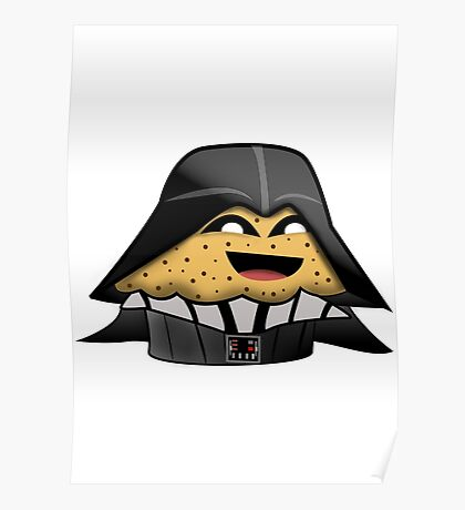 Star Wars Darth Vader Muffin Poster