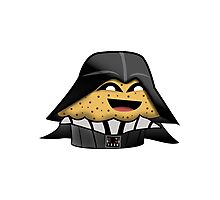 Star Wars Darth Vader Muffin Photographic Print