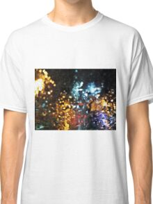Abstract City Traffic Classic T-Shirt