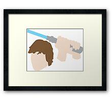 Jedi Knight Inspired Design Framed Print