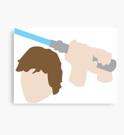 Jedi Knight Inspired Design Canvas Print