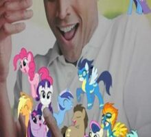 Why can't i hold all these ponies Sticker