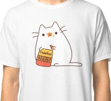 Cute Kawaii Cheeto Cat Classic T-Shirt