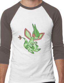 Flygon Men's Baseball ¾ T-Shirt