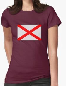 American State of Alabama Womens Fitted T-Shirt