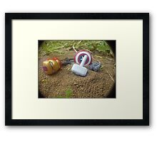 How the Mighty Fall Framed Print