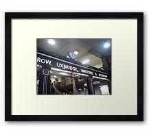 St Pancras Framed Print