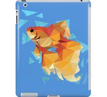 Low Poly Goldfish iPad Case/Skin