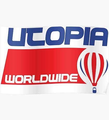 USA Balloon - Utopia Poster