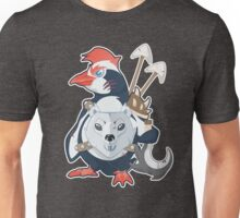 Penguin Warrior - Vector Unisex T-Shirt