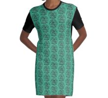 Brooklyn Road Trip United States Of America Graphic T-Shirt Dress