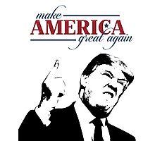 Make America Great Again Donald Trump Shirts Photographic Print