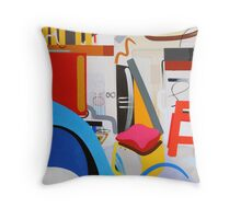 Abstract Interior #13 Throw Pillow