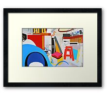 Abstract Interior #13 Framed Print
