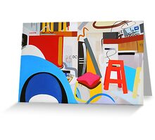 Abstract Interior #13 Greeting Card