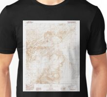 USGS TOPO Map California CA West of Black Hills 102426 1987 24000 geo Unisex T-Shirt