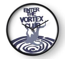 Vortex Logo Clock