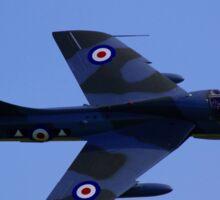 Hawker Hunter Sticker