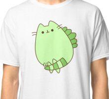 Cute Kawaii Cat Dinosaur Classic T-Shirt