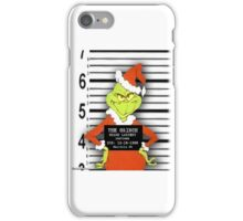 The Grinch mug iPhone Case/Skin
