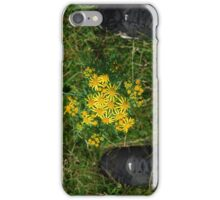 flower between nike iPhone Case/Skin