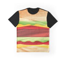Fast Flowing Food Graphic T-Shirt