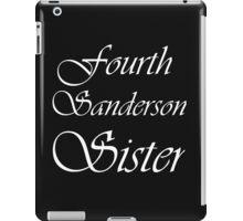 FOURTH SANDERSON SISTER BLK TEE iPad Case/Skin